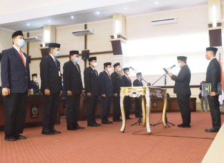Plt Gubernur Sulsel Lantik 10 Pejabat Tinggi Pratama