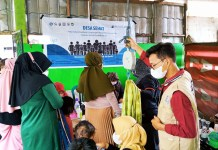 GenBI Komisariat UINAM Gelar Program Desa Sehat