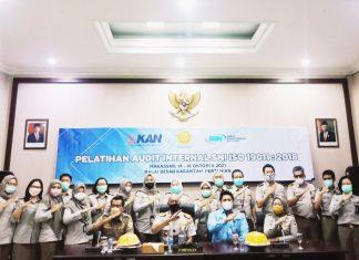 Pelatihan Griyaan Audit SNI ISO Harap BBKP Makassar Bisa Profesional