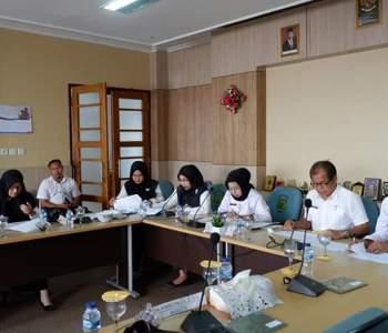Suasana Rapat Komisi IV DPRD Muba Bersama Mitra Kerja Dinkominfo Muba