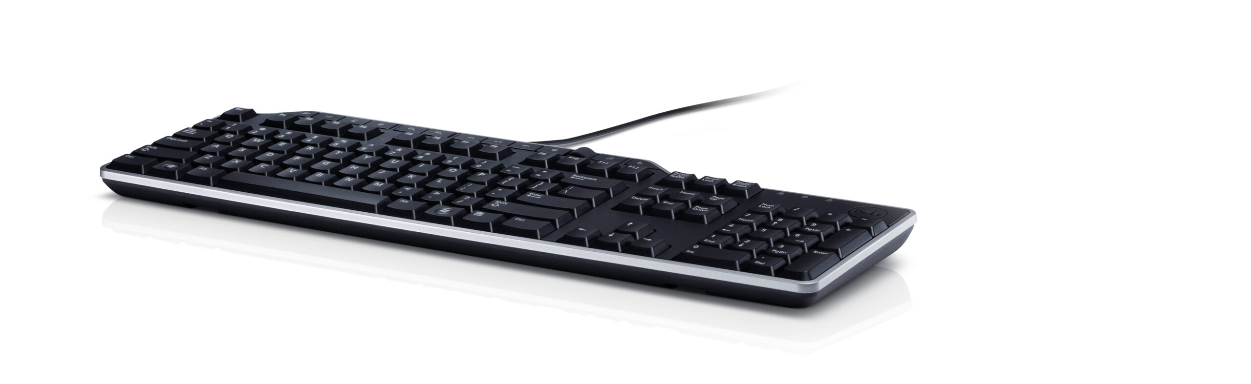 Keyboard US/Euro (QWERTY) Dell KB-522 Wired Busi