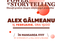 Fotograful Alex Gâlmeanu, invitatul primului seminar The Power of Storytelling