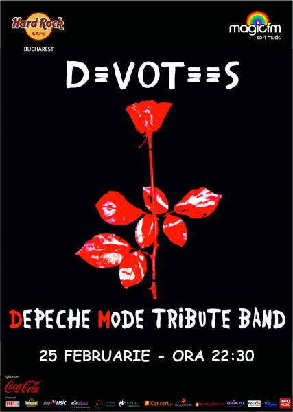 Devotees – Tribut Depeche Mode @ Hard Rock Cafe