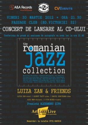 Lansare - Concert The Romania Jazz Collection