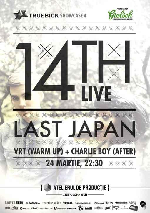 Truebick no. 4 - 14TH & Last Japan @ Atelierul de Productie
