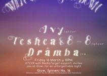 Ivy, Teshea & 8-8, Dramba@ GLOW