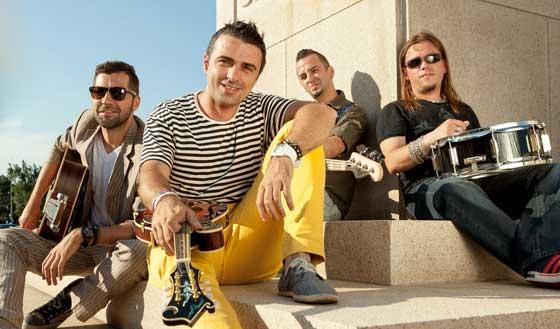 """Trupa VUNK a filmat ieri un nou videoclip, pentru piesa """"Asa, si?"""", lansata luna trecuta, impreuna cu MediaPro Music."""