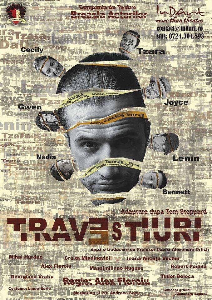 Spectacol de teatru TRAVESTIURI @ Teatrul InDArt