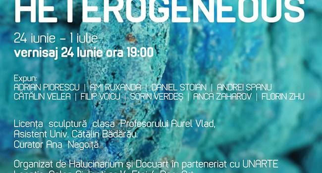 Vernisajul HETEROGENEOUS @ Galeria Halucinarium