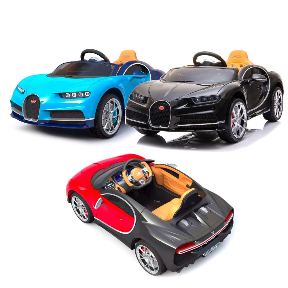 Macchina Elettrica Lt900 12v Per Bambini Bugatti Chiron Super Accessoriata