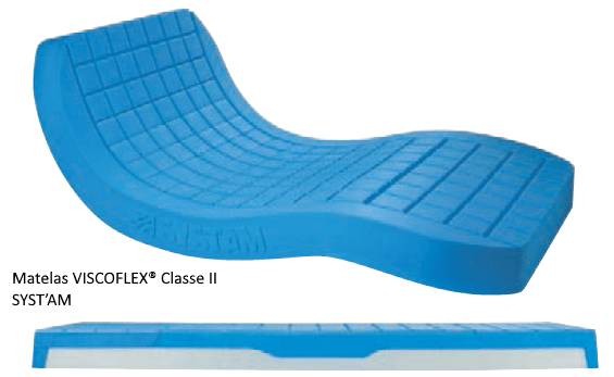 Matelas anti-escarres VISCOFLEX® Classe II SYST'AM
