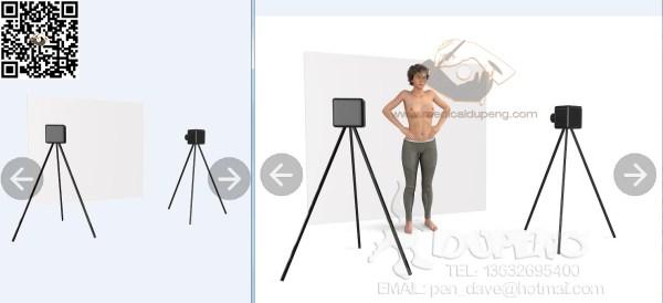 3D扫描女性乳房,用于整形外科
