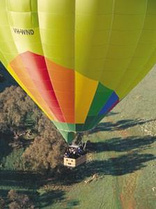 Damien Hays at Balloon Adventures brings serenity to the dawn skies