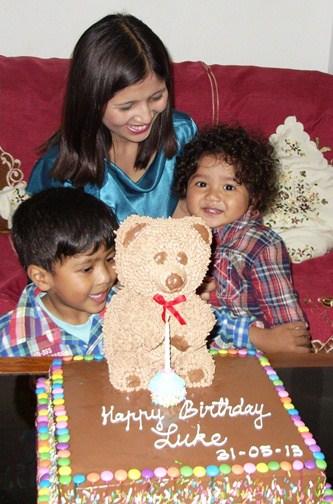 Luke's First Birthday