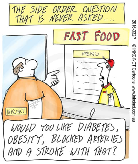 Diabetes Diet Cartoon