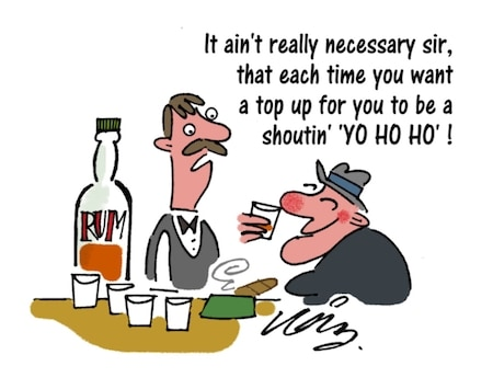Alcohol Funny Cartoon