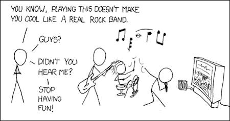 Having Fun Rock Band