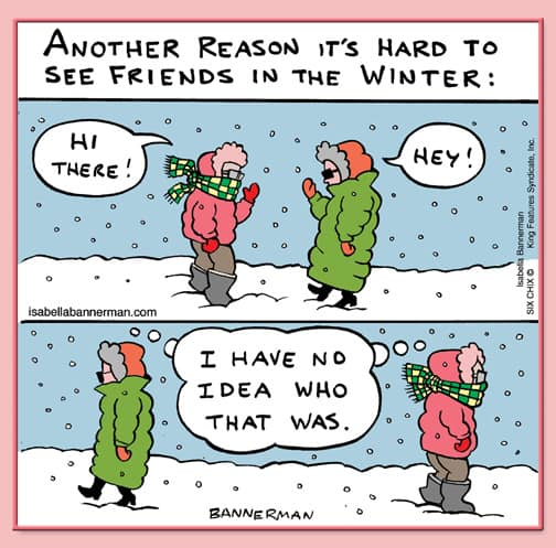 Winter Funny Cartoon