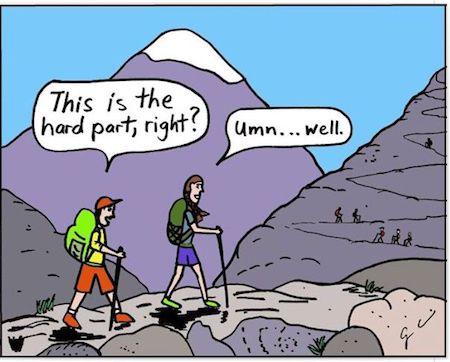 7 Surprising Health Benefits Of Hiking