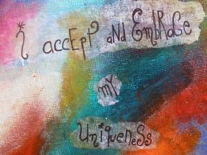 I Accept My Uniqueness