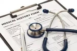 Medical History Form Image