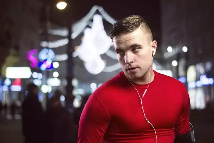 exercising at night