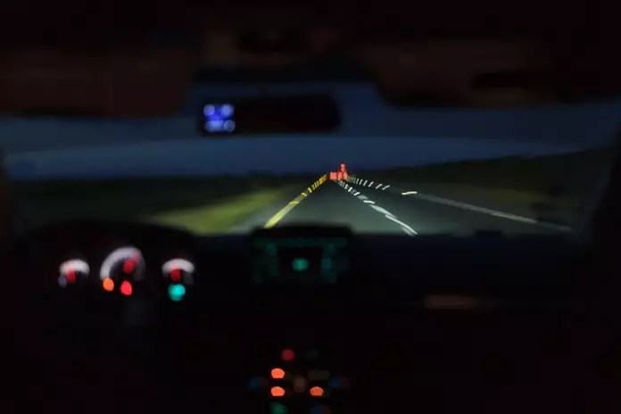 Do yellow-lens glasses improve night time driving?