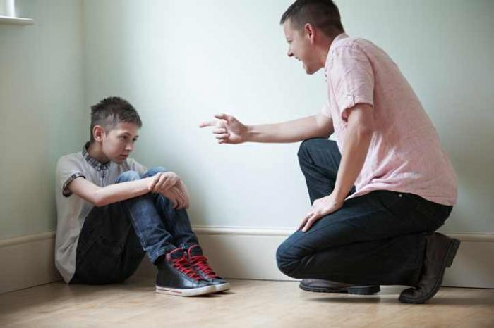 Image result for father shouting at son