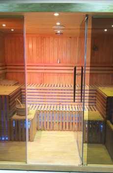 غرف ساونا خشبية
