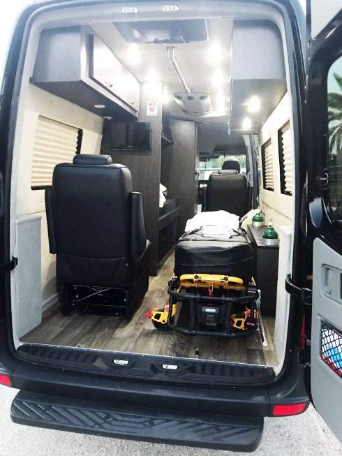 Long Distance Medical Ground Transport