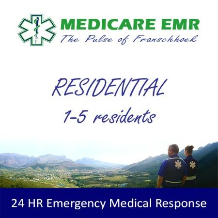 Residential Membership 1-5 Max