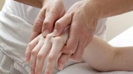 soin destressant des mains