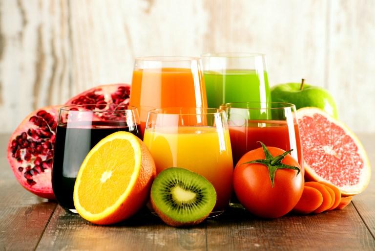 Fruits versus jus de fruits