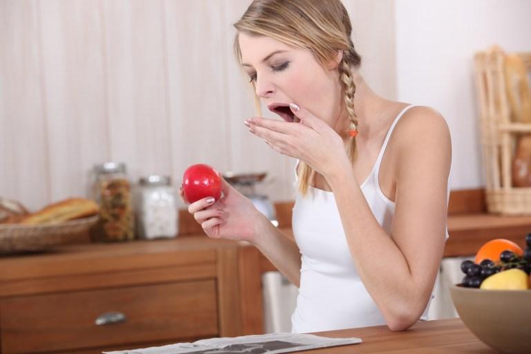 Fatigue intense après les repas?