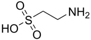 Molécule Taurine