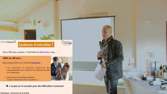 Conférence du Docteur Stéphane Résimont : Fertilité, danger ! Solutions naturelles pour lui et elle