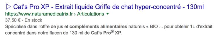 Acheter Cat's Pro XP sur NATURAMedicatrix