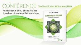 Conférence :  Réhabiliter le chou et ses feuilles dans leur dimension thérapeutique