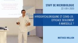 Hyrdoxychloroquine et COVID-19 – efficace seulement à Marseille ?