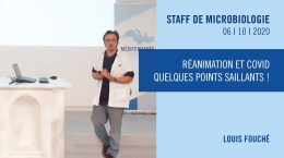Réanimation et COVID – quelques points saillants !