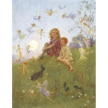 Do You Believe In Fairies By Margaret Tarrant