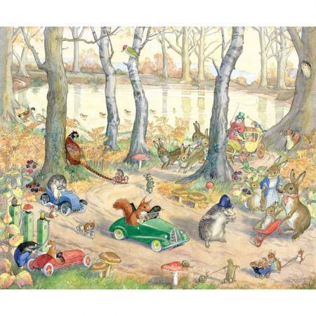 Woodland Traffic By Molly Brett