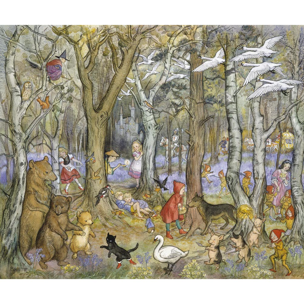 Fairy Tale Wood By Molly Brett Medici