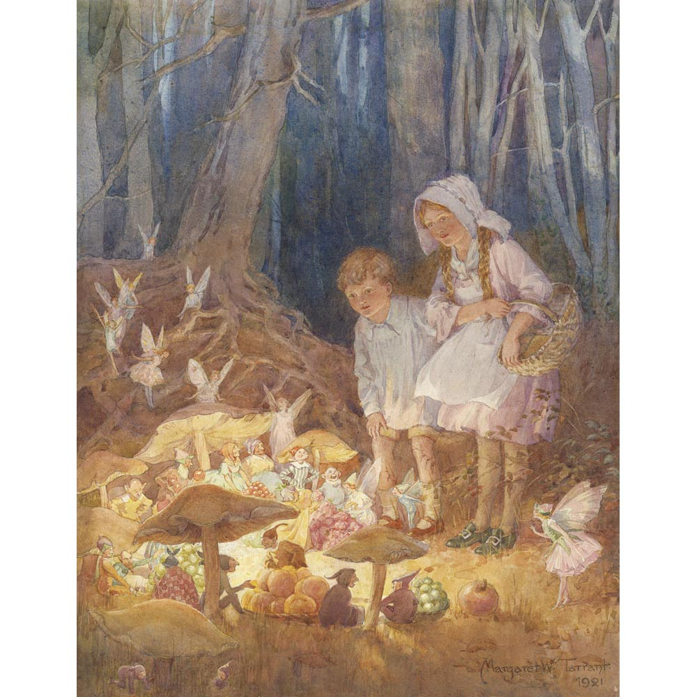 Margaret Tarrant The Fairies Market