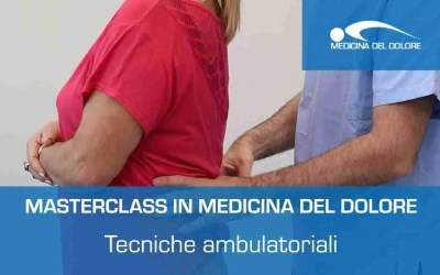 Gestione tecniche ambulatoriali in Medicina del Dolore