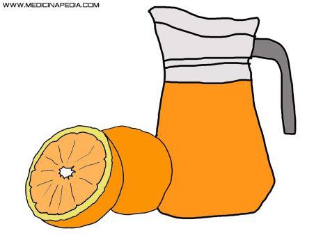 """Jarra de zumo de naranja - La Medicinapedia"""" width="""