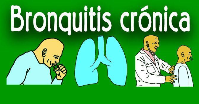 Bronquitis crónica - Todo lo que necesita saber