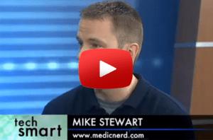 video medic nerd on news