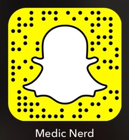 Medic Nerd Snapchat Code