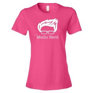 I'm a Medic Nerd T-shirt (Women's)